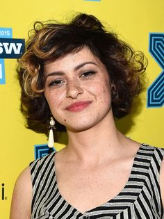 """Actress Alia Shawkat attends the premiere of """"The Final Girls"""" during the 2015 SXSW Music, Film + Interactive Festival at The Paramount Theater on March 2015 in Austin, Texas. The Final Girls, Alia Shawkat, Paramount Theater, Out Of The Closet, Finals, Facial, Actresses, Hair"""