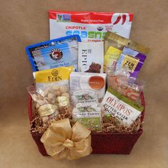 Paleo snacks gift box treat them to their own personal stash paleo snacks gift box treat them to their own personal stash packed full of snack sized paleo treats paleo gift snacks paleo gift basket negle Images