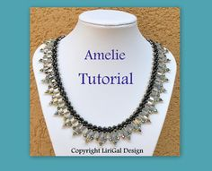 Tutorial Amelie SuperDuo&Tila Necklace PDF by Lirigal on Etsy
