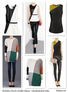 Holiday Party Outfit Ideas For Women Of Different Ages-statement tops