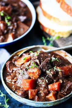 Fall apart beef cooked in the oven or the slow cooker – this Scottish beef stew is perfect for Burns night – or any other night! Fall apart beef cooked in the oven or the slow cooker – this Scottish beef stew is perfect for Burns Slow Cooker Beef, Slow Cooker Recipes, Beef Recipes, Soup Recipes, Cooking Recipes, Crockpot Meals, Slow Cooking, Irish Stew Slow Cooker, Chicken