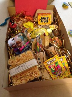 Golden Birthday Gift Box For A 5 Year Old