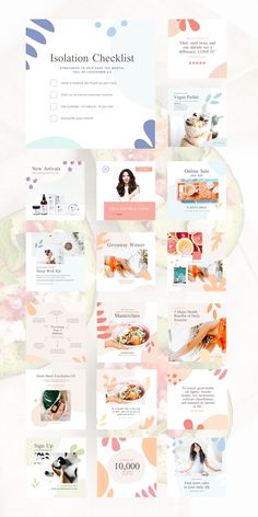 Ready to make a bigger impact on Instagram for your wellness brand? Nurture your social feeds with the Health & Wellness Social Feed Template, a refreshing assortment of 30 custom designs created to provide a light, airy, and cohesive aesthetic to your content. Drive traffic, increase engagement, and inspire your audience by generating on-brand social posts using these fully customizable Canva Templates. Health And Wellness, Custom Design, Inspire, Posts, Content, Templates, Engagement, Canvas, Instagram