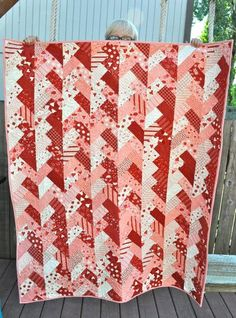 Quilt or Stitch? How about both?: Braided Valentine Quilt
