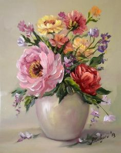 Oil Painting Flowers, Watercolor Paintings, Art Folder, Flower Oil, Still Life Art, Rose Art, Arte Floral, Pastel Art, Acrylic Art