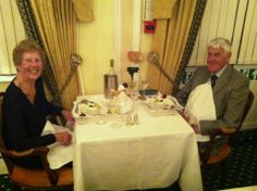2 of our Guests celebrating their wedding anniversary at the Belmont Hotel