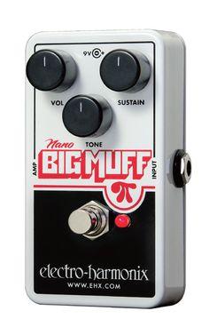 【正規輸入品】Electro harmonix / NANO BIG MUFF ディストーション 【新製品】の最安値