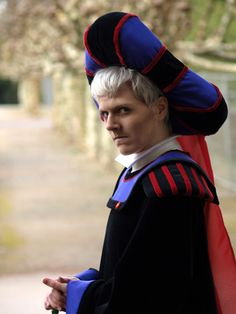 """HOND - Saturday Shooting 2 by ChocolateDecadence.deviantart.com on @deviantART - Cosplay of Frollo from """"The Hunchback of Notre Dame"""""""