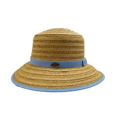Cappelli Big Brim Hat with Ribbon Accent Cloche Hat, Brim Hat, Summer Hats For Women, Paper Straws, Panama Hat, Ribbon, Bows, Braid, Larger