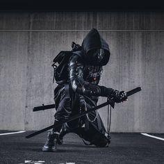 Character Aesthetic, Character Concept, Character Art, Concept Art, Armor Concept, Cyberpunk Clothes, Cyberpunk Fashion, Cyberpunk Art, Urban Samurai