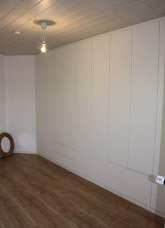 Dressing Einbauschrank, built-in cupboard, placard. Design by OST Concept Luxembourg.