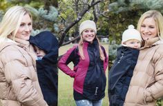 Maternity babywearing coat extender, clips on to your own outerwear, Maternity gift, Mom baby coat alternative Maternity Jacket, Baby Carrying, Baby Coat, Pregnancy Gifts, Baby Comforter, Expecting Baby, Mom And Baby, Babywearing, Kids And Parenting