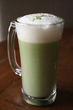 Original Starbucks Drink: Teavana green tea latte  Homemade Version: green tea latte (with almond milk and brown rice syrup)