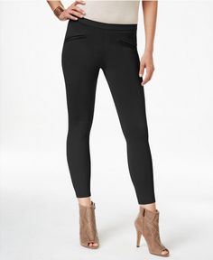 34.97$  Watch here - http://virjk.justgood.pw/vig/item.php?t=iiwu52i40277 - HUE Satin Jersey Skimmer Leggings Black XS Brand New with Tags!