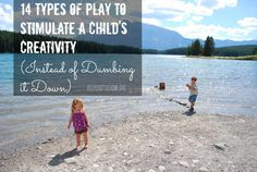 Check out these 14 types of play that do not involve plastic toys and instead they stimulate your child's creativity!