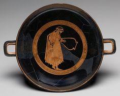 TICMUSart: Kylix, ca. 480 B.C. Greek (I.M.)