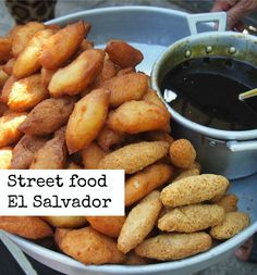 Street Food El Salvador Central America . A week of exploring El Salvador, it's a great little country! http://worldtravelfamily.com