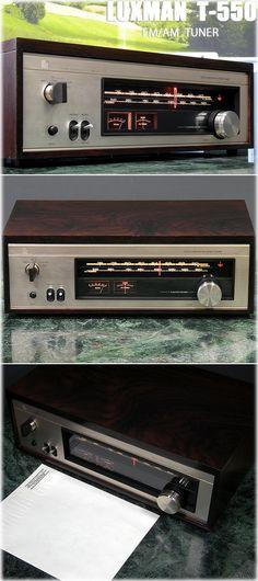 LUXMAN FM/AM стерео тюнер LUXMAN T-550