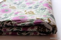 2.5 Yard Indian Dabu Print Pure Cotton Hand Block Print Fabric 01 #Handmade