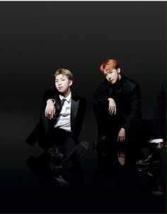 Rap Monster - J Hope yaa uri hobie looking so handsome