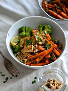 Carrot seaweed salad