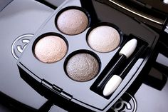 Chanel Quadra Les 4 Ombres Eyeshadow in Tissé Mademoiselle -  Intense beige, satin gold, luminous beige and khaki brown