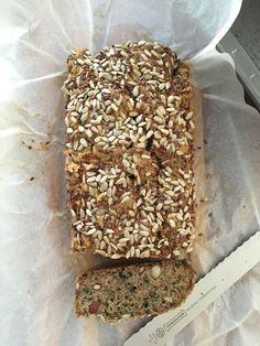 Paleo seed and nut bread