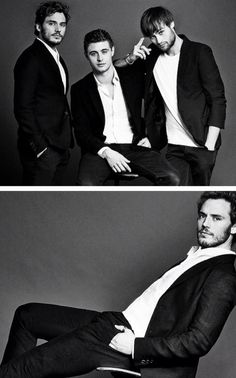 Max Irons, Sam Claflin & Douglas Booth 'The Riot Club'