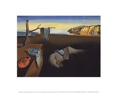 The Persistence of Memory, c.1931 by Salvador Dali art print