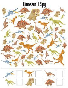 20 Fun Printable Dinosaur Activity Sheets