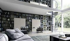 21 Bücherregale im Wohnzimmer für die Bücherfans