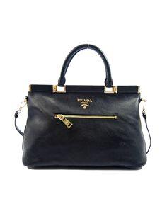 Prada 2011 designer handbag Black