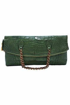 The Extras: Going Green: Louis Vuitton bag, 866-VUITTON.
