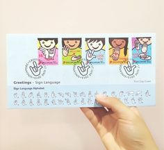 sign language stamps <3