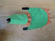 Pink DIY dinosaur costume. Hoodie and leggings from ...