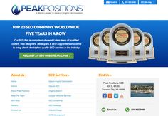 Peak Positions organic search firm is comprised of a world class team of qualified coders, engineers, designers, developers, and SEO copywriters that deliver the very best in organic search. Peak Positions Organic SEO provides organic search marketing, organic search engine optimization, and Google organic search marketing services that include expert organic search marketing guidance for leading companies throughout the world.