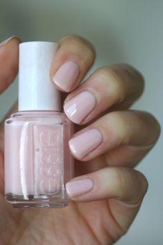 Essie Sheer Pink Comparison : Tying the Knotie