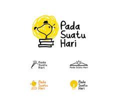 Pada Suatu Hari Studio Logo Portfolio on Behance Logo Design Inspiration, Icon Design, Web Design, Portfolio Logo, Portfolio Design, Logo Branding, Branding Design, Chicken Logo, Tea Logo