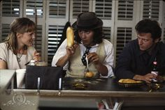 """Some cultures are defined by their relationship to cheese."" Benny and Joon."