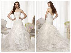 Fit and Flare Semi Sweetheart Neckline Wedding Dresses with Pleated   Skirt http://www.ckdress.com/fit-and-flare-semi-sweetheart-neckline-wedding-  dresses-with-pleated-skirt-p-512.html  #wedding #dresses #dress #lightindream #lightindreaming #wed #clothing   #gown #weddingdresses #dressesonline #dressonline #bride