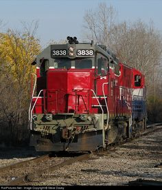 RailPictures.Net Photo: CORP 3838 Central Oregon & Pacific Railroad EMD GP38AC at Saginaw , Michigan by Steve Davey