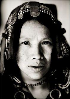 Laos  Akha Ano woman  Image: by Eric Lafforgue