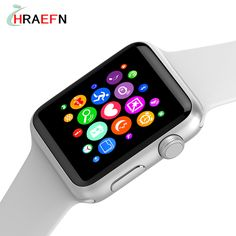W52 Bluetooth smart watch Heart Rate monitor smartwatch Anti-Lost Wireless Charging For ios apple iphone android huawei xiaomi  #Affiliate