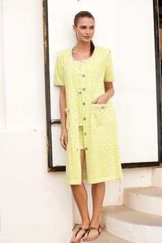 Yellow mellow! #egatex #summer #yellow #sleepwear #homewear
