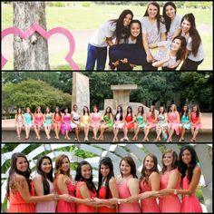 Phi Mu at University of Houston, Alpha Pi Chapter. Fall 2013 recruitment. Be BOLD, Go GREEK!