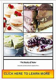 Raw Recipes with Raw Dessert Recipes and Raw Chocolate Recipes: Trick your Kids with healthy stuff! - Raw Beetroot, Lemon and Chocolate Cheesecake towers!