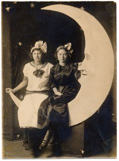 sisters on the moon