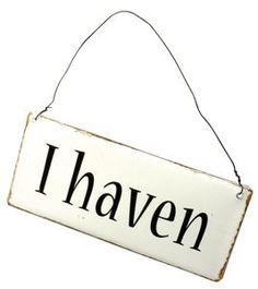 """Billede af Skilt """"I haven"""""""