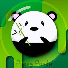 'Flat design character - Punny Panda' by GerhardInk Flat Design, My Design, Mac Stickers, Notebook Bag, Notebook Stickers, Plastic Sheets, Vinyl Sheets, Adhesive Vinyl, Wood Print