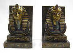pharaoh bookends